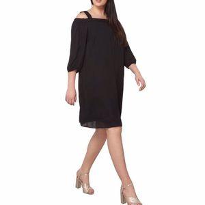Dorothy Perkins Bardot Cold Shoulder Shift Dress